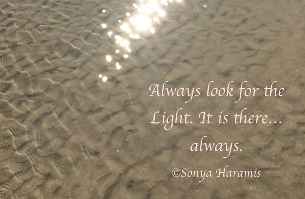 Always look for the light
